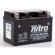 NITRO Gesloten batterij onderhoudsvrij YT12A-BS-GEL