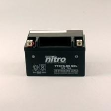 Gesloten batterij onderhoudsvrij YTX7A-BS-GEL