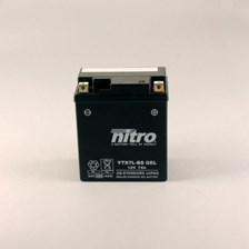 NITRO Batterie fermée sans entretien YTX7L-BS-GEL