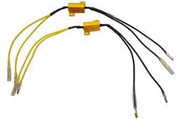 PAASCHBURG & WUNDERLICH : Weerstand met kabel - 2x 7,5 Ohm