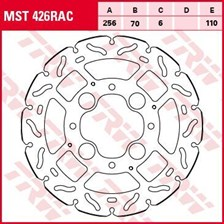 TRW MST disque fixe avec RAC design MST426RAC