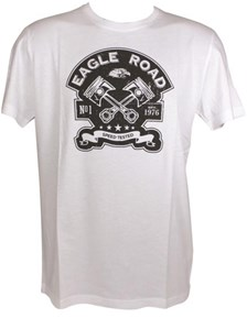 HARISSON T-shirt Eagle Road Blanc