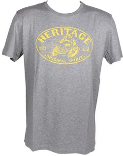 HARRISON : T-shirt Heritage - grijs