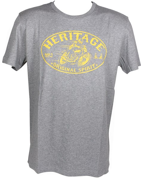 HARISSON T-shirt Heritage Grijs