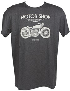 HARISSON T-shirt Motor Shop Gris