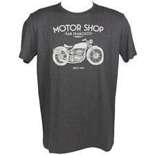 HARISSON T-shirt Motor Shop Grijs