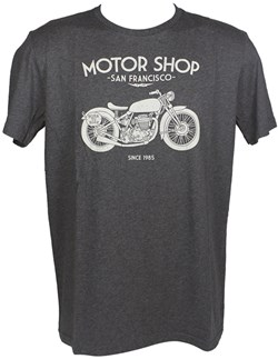 HARRISON : T-shirt Motor shop - gris