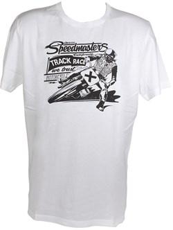 HARRISON : T-shirt Speed Master - wit