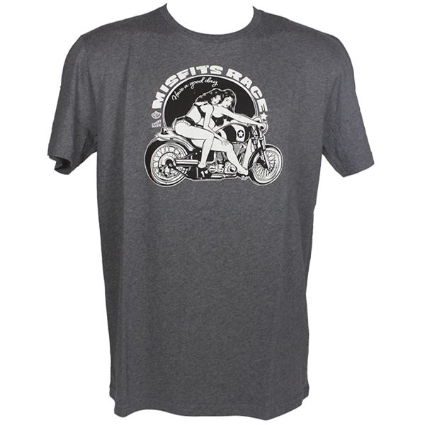 HARISSON T-shirt Misfit's Race Gris