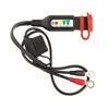 OPTIMATE O-124 câble batterie avec indicateur de charge