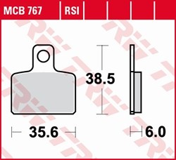 TRW Plaquettes de frein RSI