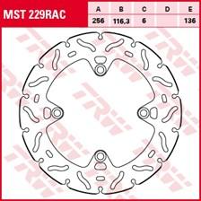 TRW MST disque fixe avec RAC design MST229RAC