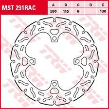 TRW MST vaste remschijf RAC design MST291RAC