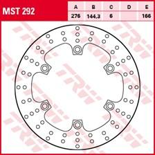 TRW MST disque de frein fixe MST292