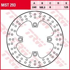TRW MST disque de frein fixe MST293