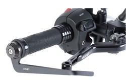 CHAFT : Protection de levier de frein - Noir mat