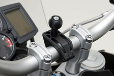 """PAASCHBURG & WUNDERLICH Fixation RAM Guidon 22mm/28mm/1"""""""