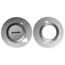 SHARK Nano Laterale covers (links + rechts) Blinkend wit WHU