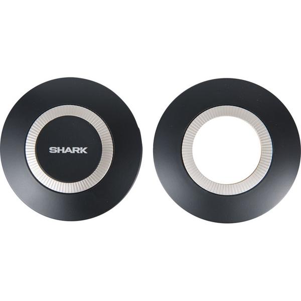SHARK Nano Caches latéraux (gauche + droite) Noir mat KMA