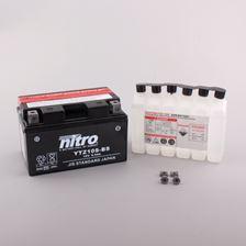 NITRO Gesloten batterij met zuurpakket YTZ10S-BS