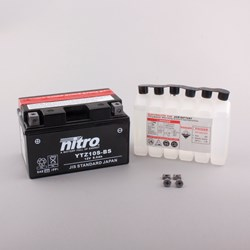 NITRO Gesloten batterij met zuurpakket