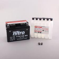 NITRO Batterie fermée avec pack acide YTZ12S-BS