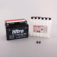 NITRO Batterie fermée avec pack acide YTZ14S-BS