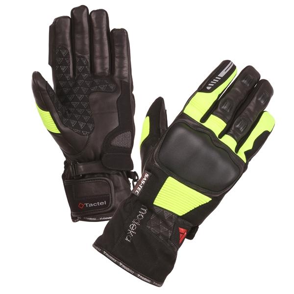 MODEKA Tacoma Glove Noir-Jaune Hommes