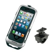 INTERPHONE I-Phone 5 houder moto, zilver