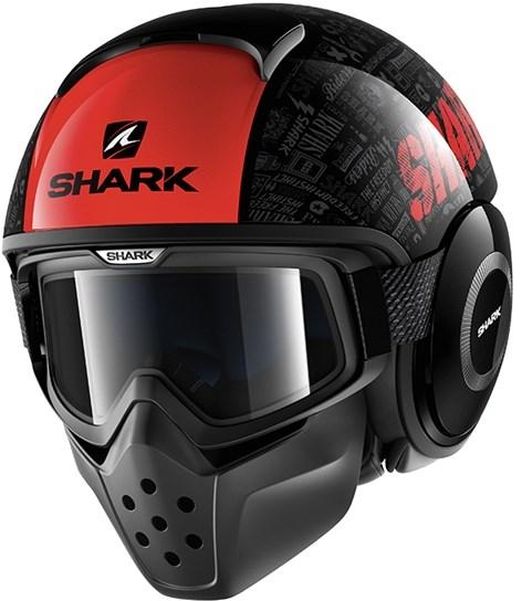 SHARK Drak Tribute RM Noir-Rouge-Anthracite KRA