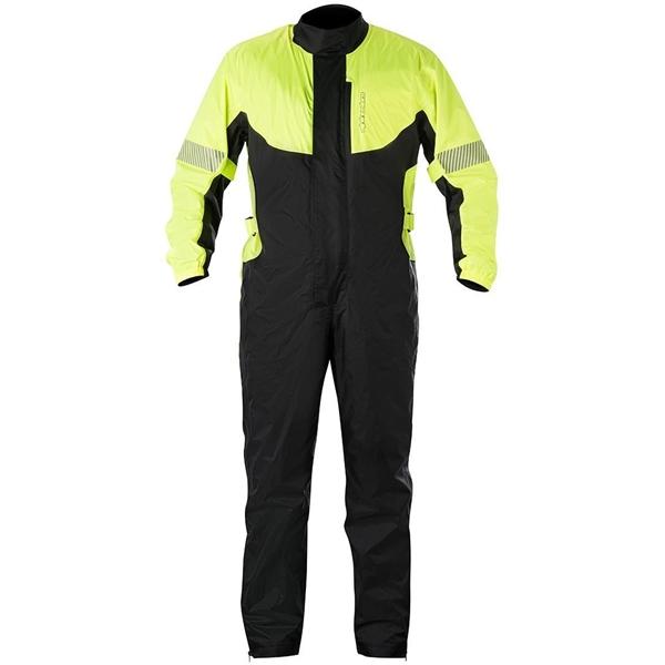 ALPINESTARS Hurricane Suit Jaune Fluo-Noir