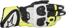 ALPINESTARS GP Plus R Gloves Zwart-Wit-Fluo Geel