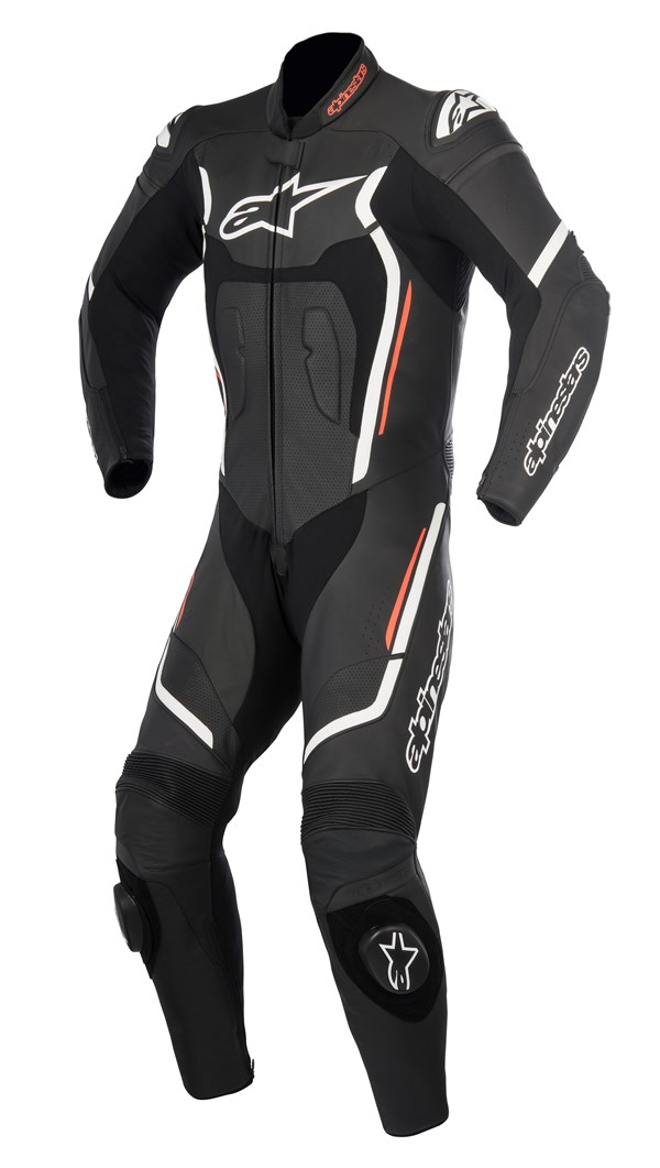 ALPINESTARS Motegi V2 1PC Suit Zwart-Wit-Rood