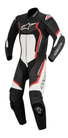 ALPINESTARS Motegi V2 1PC Suit Noir-Rouge-Blanc