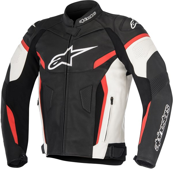 ALPINESTARS GP Plus R V2 Jacket Zwart-Wit-Rood