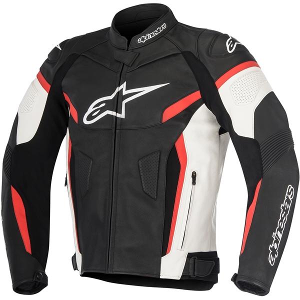 ALPINESTARS GP Plus R V2 Jacket Noir-Blanc-Rouge