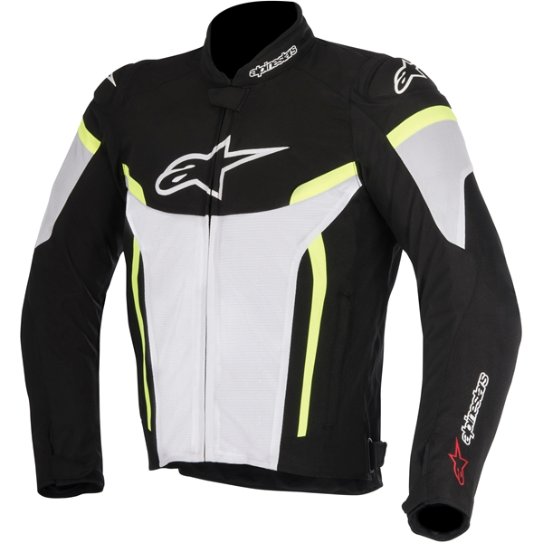 ALPINESTARS T-GP Plus R V2 Air Zwart-Wit-Fluo Geel