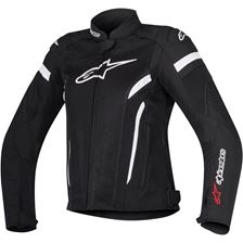 ALPINESTARS Stella T-GP Plus R Air V2 Zwart-Wit