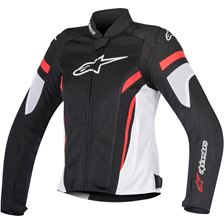 ALPINESTARS Stella T-GP Plus R Air V2 Zwart-Wit-Rood