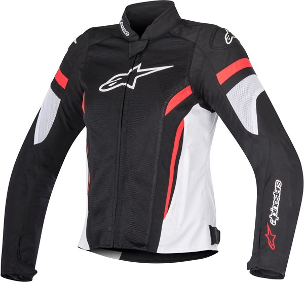 ALPINESTARS Stella T-GP Plus R Air V2 Noir-Blanc-Rouge