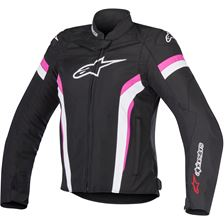 ALPINESTARS Stella T-GP Plus R Air V2 Zwart-Wit-Roze