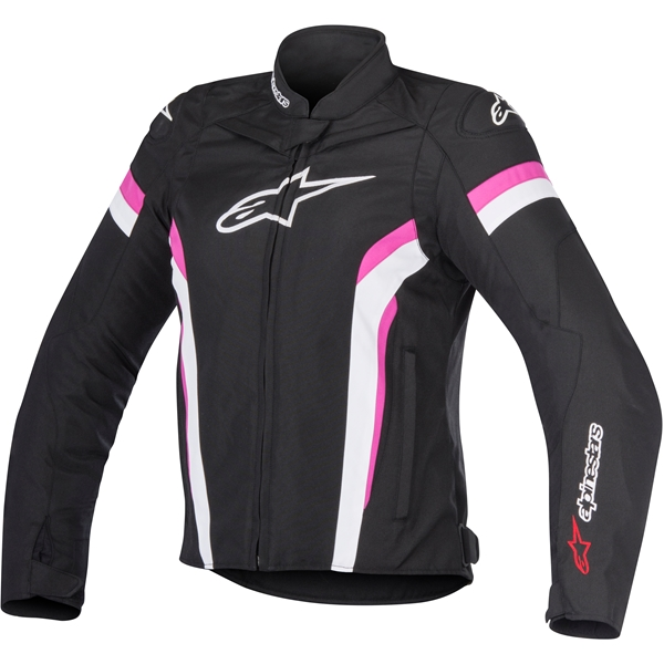 ALPINESTARS Stella T-GP Plus R Air V2 Noir-Blanc-Rose