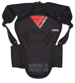MODEKA : Protection dorsale SafePro - Noir