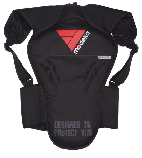 MODEKA Protection dorsale SafePro Noir
