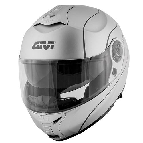 GIVI X.21 Challenger Graphic Mat Zilver