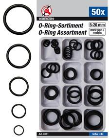 BGS TECHNIC Set O-ringen 50 stuks