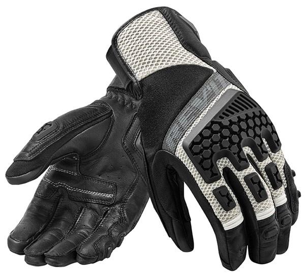 REV'IT! Sand 3 Glove Noir-Argent