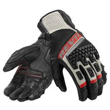 REV'IT! Sand 3 Glove Zwart-Rood