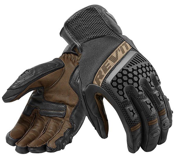 REV'IT! Sand 3 Glove Zwart-Zand