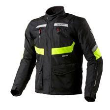 REV'IT! Neptune GTX HV Jacket Noir-Jaune Fluo